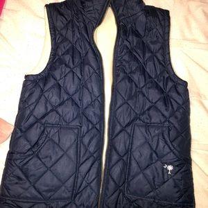 Jackets & Blazers - Reversible navy vest